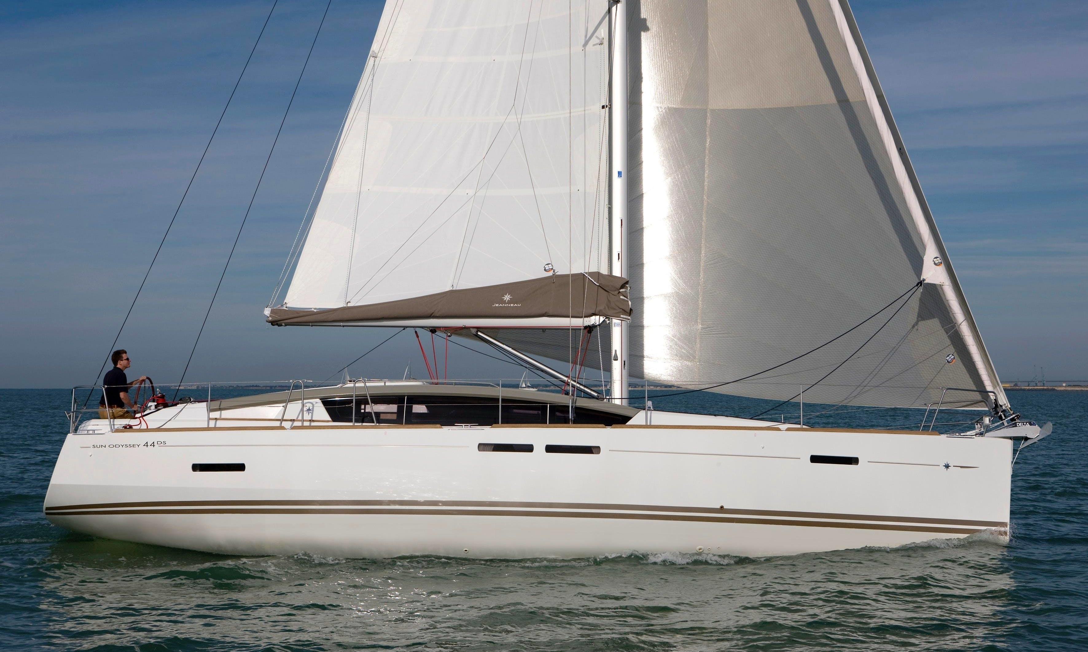 Jeanneau 44 Cruising Monohull for Charter with or without a Skipper in Loano, Liguria