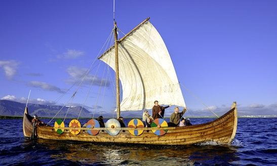 36' Viking Boat Tour In Reykjavík, Iceland