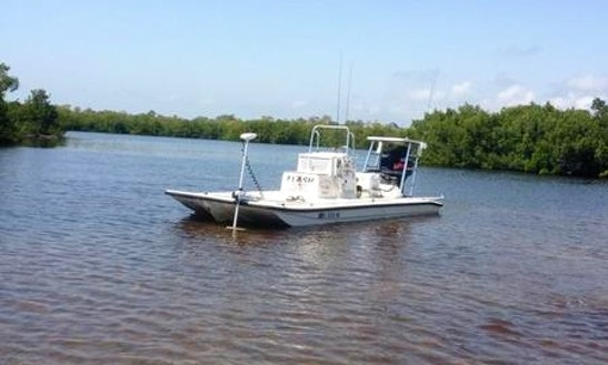Enjoy 22 39 pathfinder flats boat fishing charter in placida for Port charlotte fishing charters