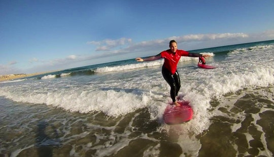 Enjoy Surf Lessons And Rental In Fuerteventura, Canarias