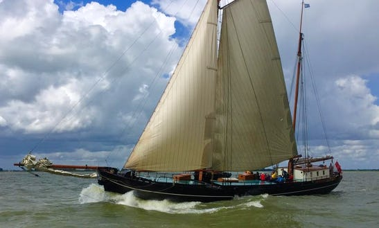 Charter 105' Sloop In Monnickendam, Noord-holland