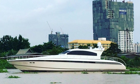 76' Leopard Power Mega Yacht Rental In Mueang Pathum, Thailand