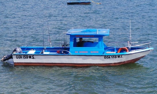 Enjoy Fishing In Dona Paula, Goa On 26' Center Console
