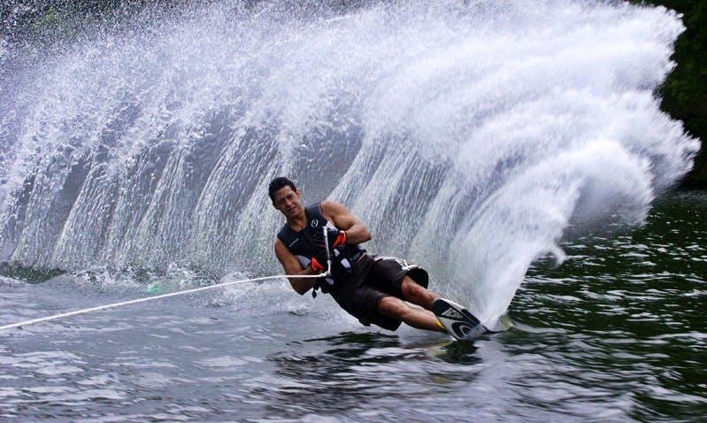 Exciting 1 Hour Water Skiing Adventure in Kortgene, Netherlands