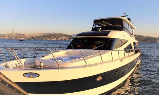 Private Motor Yacht Charter For 35 Person In İstanbul, Turkey
