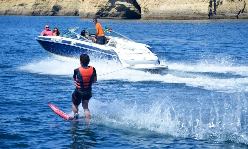 """Enjoy the 23ft Cobal """"Muts Knuts"""" Speed Boat in Quarteira, Portugal"""