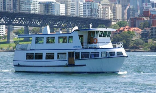 Party Yacht For Up To 100 People On Sydney Harbour!