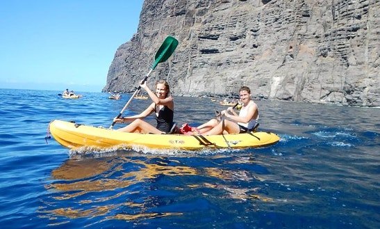 Enjoy Kayak Tours At Canary Islands, Spain