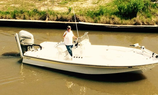 Honda Powered Center Console Fishing Charter In Chauvin