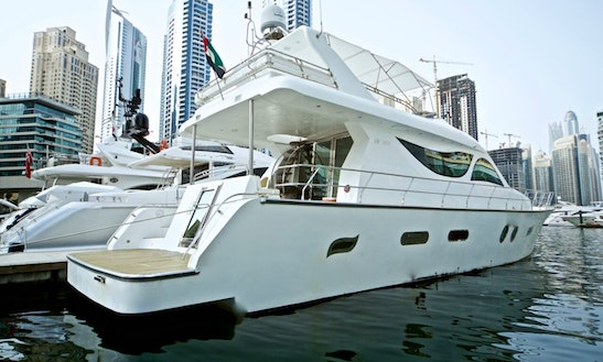 Charter 80' Luxury Power Mega Yacht In Dubai, Uae