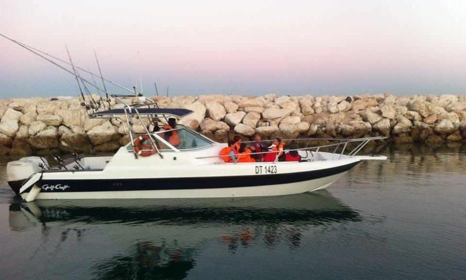 Dubai Fishing Charter On 31' Fishing Boat