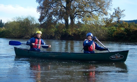 Enjoy Canoe Tours On River Wye In Milkwall, England