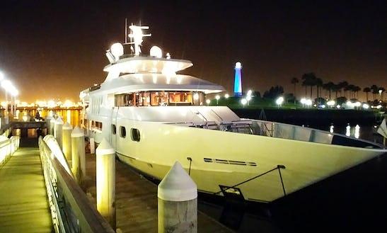 Power Mega Yacht Rental In Marina Del Rey