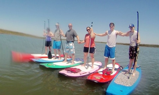 Stand Up Paddleboard Rentals And Tours In Charleston, South Carolina