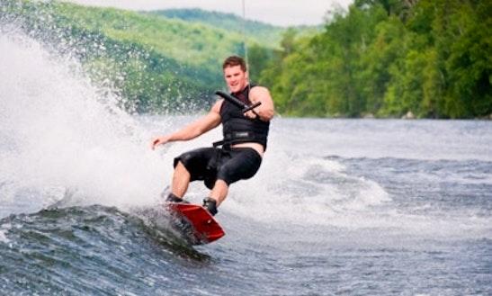 Enjoy Wakeboarding In Snagov, Romania