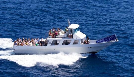 Explore Capri, Campania On Passenger Boat