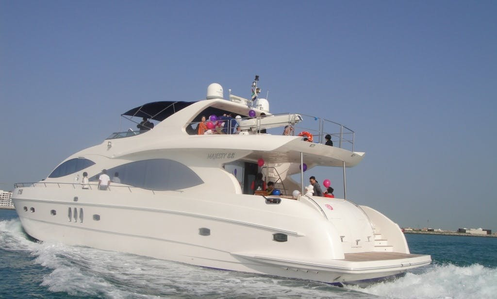 88' Majesty Motor Yacht in Dubai, UAE