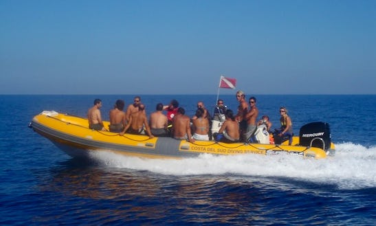 Enjoy Diving Trips And Courses In Nardò, Italy