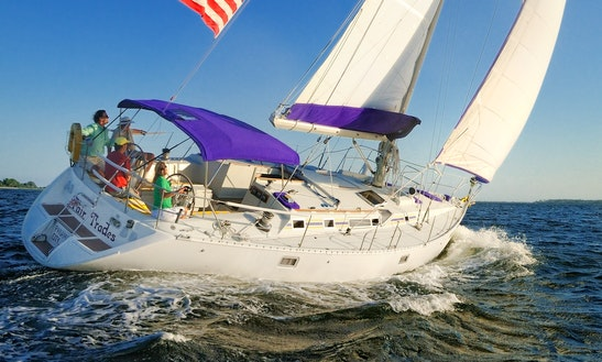 Charter 50' Beneteau Cruising Monohull In Panama City, Florida