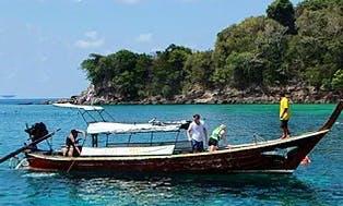 Enjoy Snorkeling In Tambon Ko Lanta Noi, Thailand On Center Console