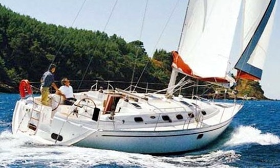 Charter 43' Spirit Of June Cruising Monohull In Badachro, Scotland