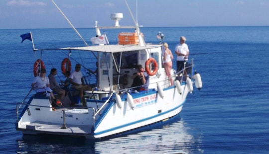 Enjoy Fishing In Paralimni, Protaras With Captain Socrates