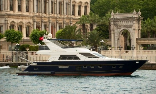 Charter 71' Power Mega Yacht In Istanbul, Turkey