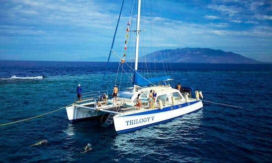 Enjoy Lahaina, Hawaii On 50ft 'trilogy V' Sailing Catamaran