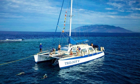 Enjoy Lahaina, Hawaii On 50ft 'trilogy V' Sailing Catamaran