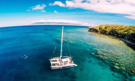 Enjoy Lahaina, Hawaii On 'trilogy Iv' Sailing Catamaran