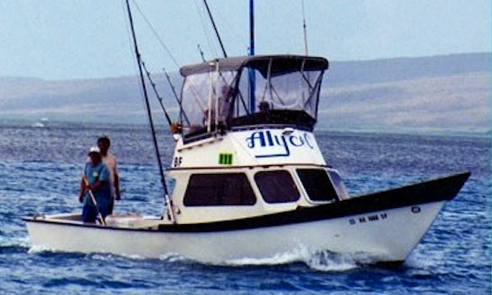 Kaunakakai, Hawaii Fishing Charter With Captain Joe