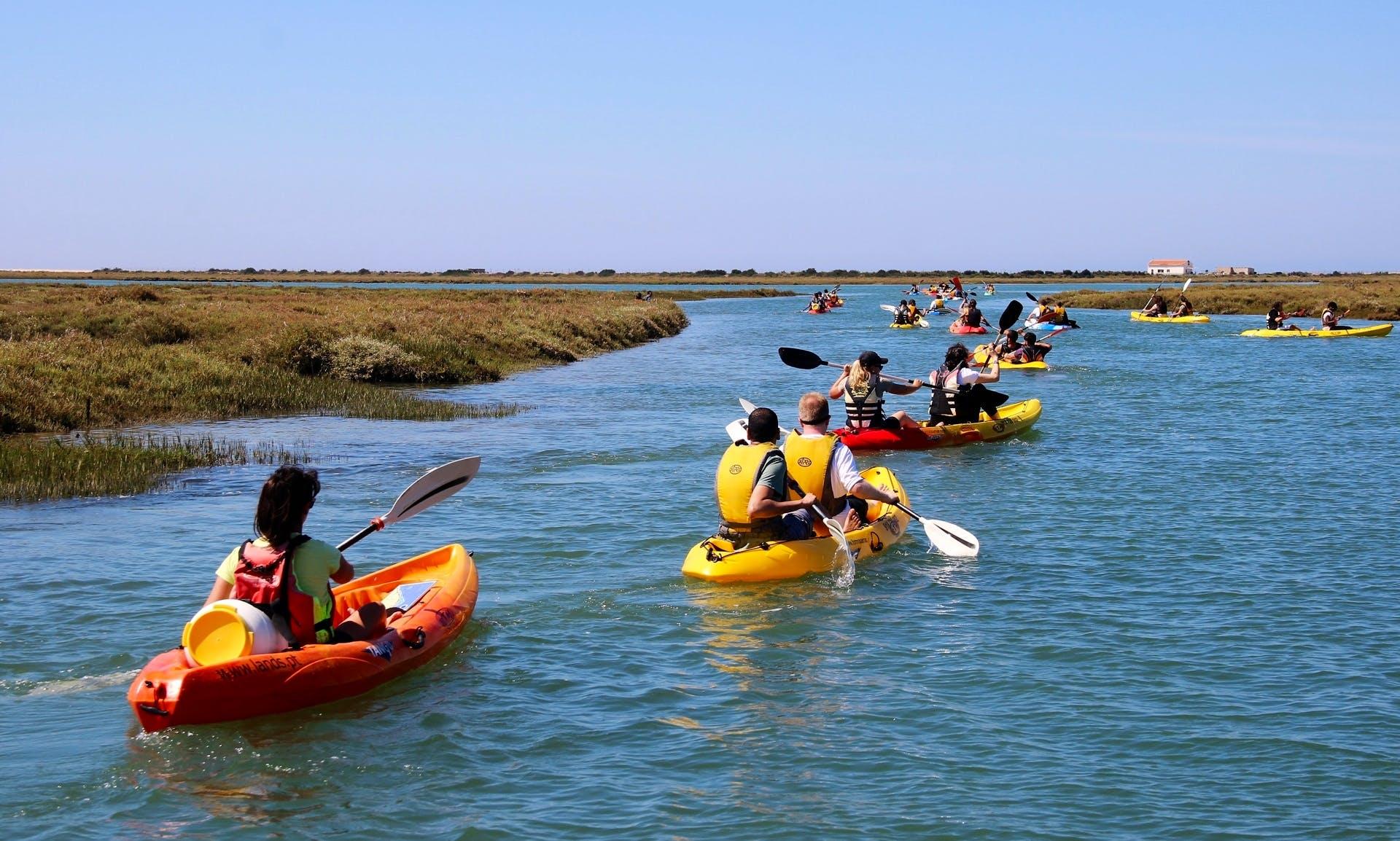 Rent a Kayak in Ria Formosa, Algarve