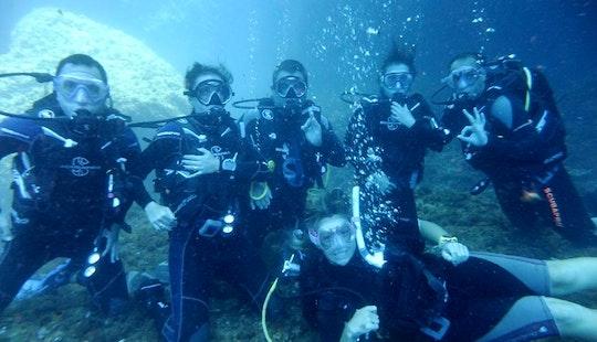 Enjoy Diving Courses In St Paul's Bay, Malta