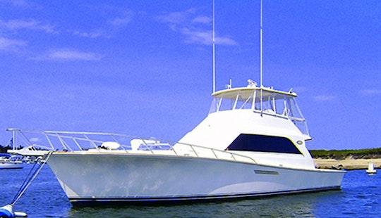 Charter 55' Power Mega Yacht In Boston, Massachusetts