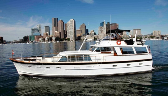 Charter The 64' Motor Yacht In Boston, Massachusetts