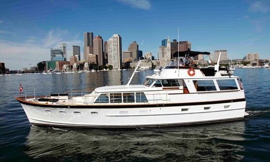 Charter The 64' Motor Yacht In Boston, Massachusetts