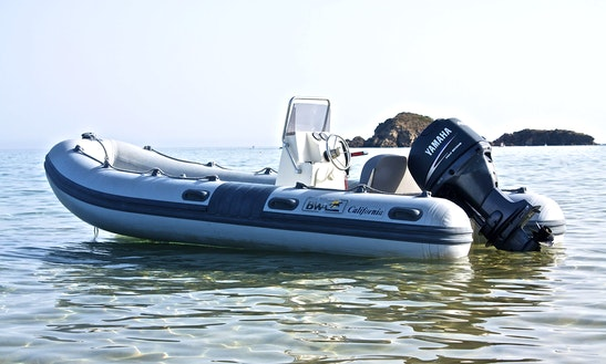 Rent A 16' Rigid Inflatable Boat In Sardegna, Italy
