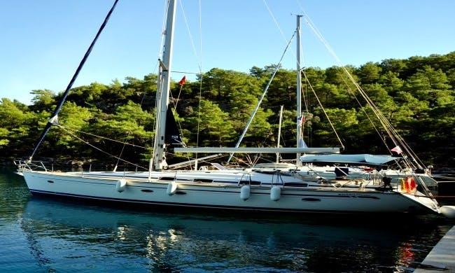 Charter 46' Cruising Monohull in Göynük Belediyesi, Antalya.