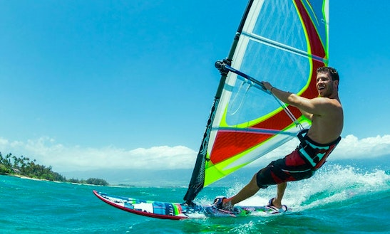 Enjoy Windsurfing Lessons In Porto Pollo, Sardegna Island