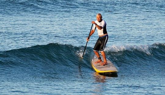Enjoy Stand Up Paddleboarding In Porto Pollo, Sardegna Island