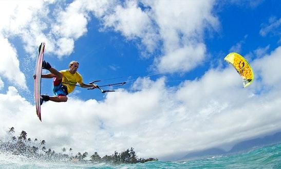 Enjoy Kitesurfing Lessons In Porto Pollo, Sardegna Island