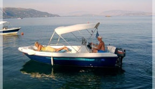 Rent A Waterbird Center Console In Dassia, Greece