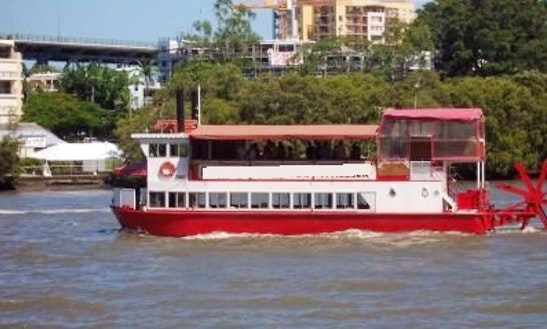 Enjoy Brisbane River In Bald Hills, Queensland On The Lady In Red Passenger Boat
