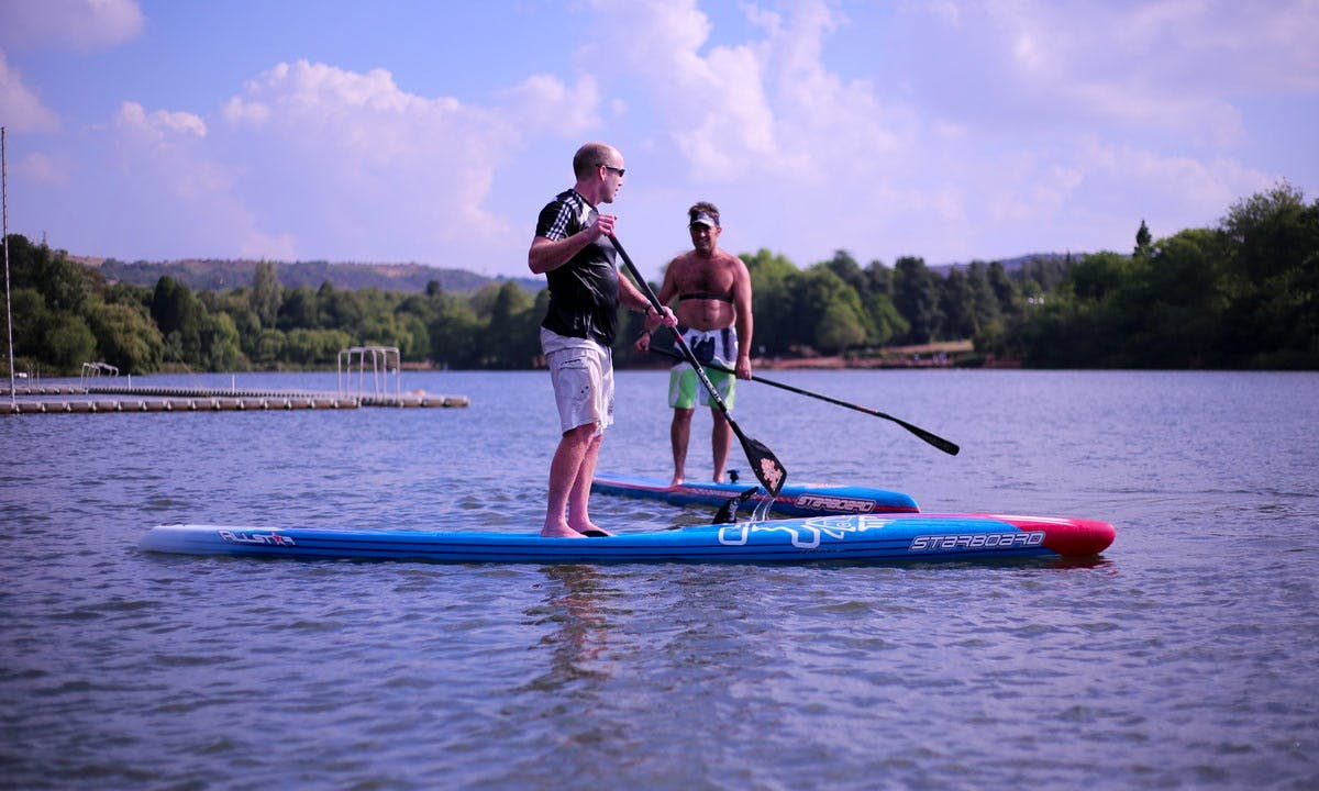 Enjoy Stand Up Paddleboard Rental and Lessons in Johannesburg, South Africa