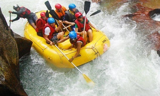 Enjoy Rafting Trips On Kiulu River, Sabah