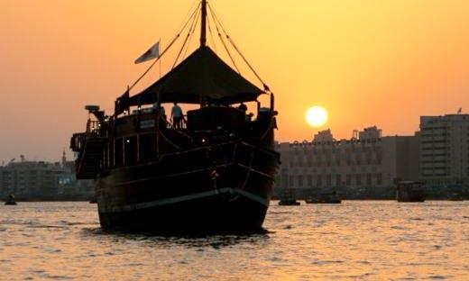 Dhow Boat Cruises In Dubai, UAE