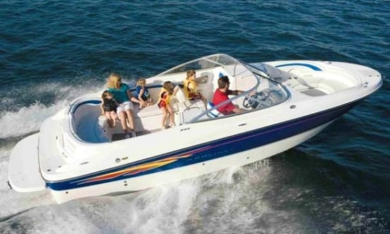 Rent A 25' Bow Rider In Illes Balears, Spain