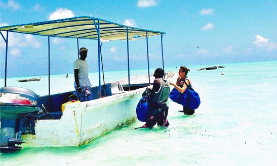 Enjoy Diving Trips And Courses At Kitete Beach, Zanzibar