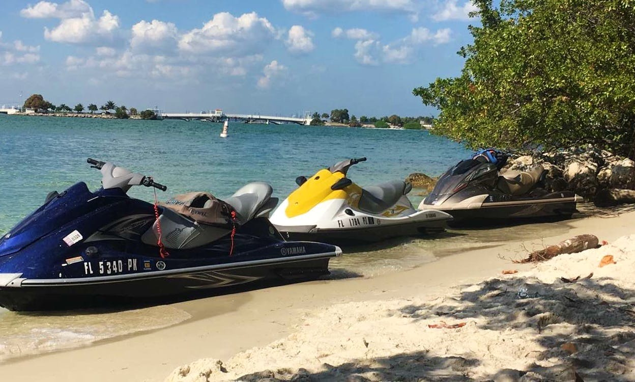 Yamaha VX Jet Ski Rental in Miami, Florida