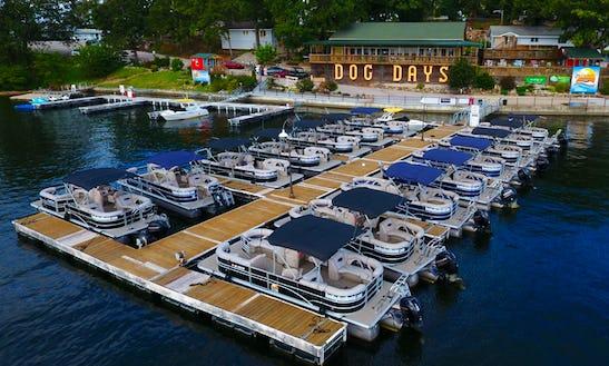 26' Sylvan Mirage Pontoon Available To Rent In Lake Ozark